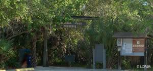 entrance to matanzas pass preserve