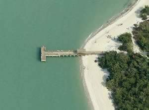 lighthouse beach fishing dock sanibel fl