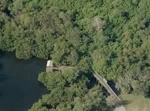 shady oaks fishing pier on billys creek
