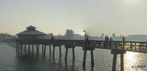lynn hall memorial fishing pier