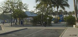playground and pavilion at lynn hall park