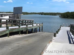 ramp at no. 4 bridge in cedar key
