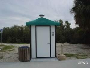 restrooms cedar key basin ramp