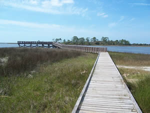 shell mound park pier