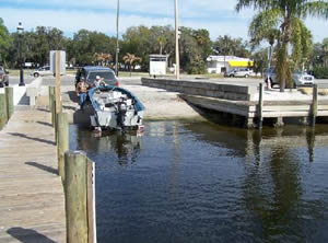 boat ramp in palmetto florida