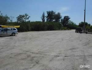 parking for boat trailers at sr 64 boat ramp