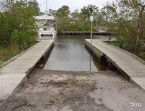 Stuart Florida R Boat Ramp