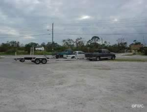 parking at broward street boat ramp stuart florida