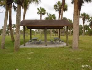 phippis park and boat ramp picnic pavilion