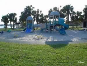 playground at sandsprit park and boat ramp