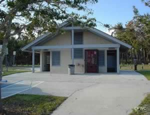 restrooms at sandsprit park and boat ramp stuart fl