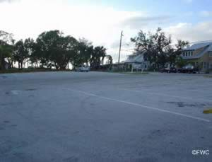 parking at shepard park and boat ramp