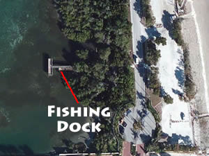 intercoastal fishing dock at bath tub reef park