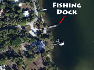 fishing dock at greenfield park in hobe sound fl