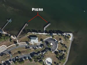 fishing piers at sandsprit park stuart fl