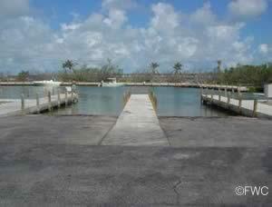 boat ramp at bahia honda florida state park