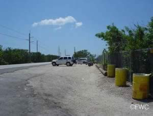 parking at card sound west ramp monroe county florida