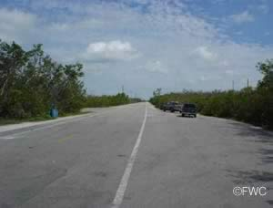 parking at boat launching ramp cudjoe key