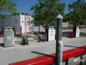 fuel at john pennekamp marina