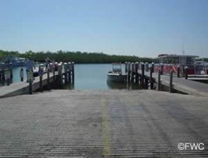 launch your boat at state park ramp florida keys