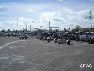 parking at public boat ramp key west florida