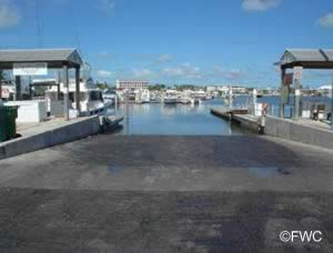key west city boat launch ramp