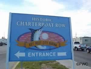 City boat launch sign key west fl