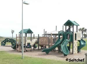 playground at main beach park fernandina beach florida