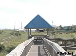 north beach park shade structure fernandina beach