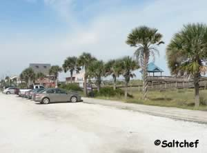 parking at north beach fernandina beach