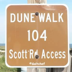 scott road access sign