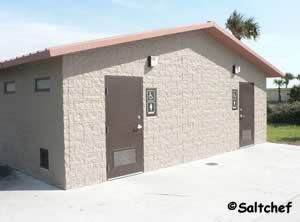 restrooms at seaside park fernandina beach