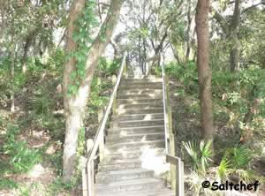stairs at southend walkover nassau county