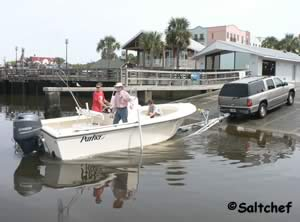 boat launch in fernandina beach