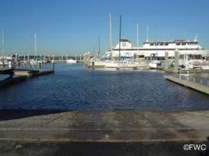 saltwater boat ramp in fernandina beach fl nassau county