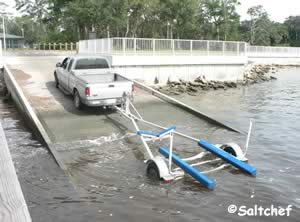boat ramp at goffinsville