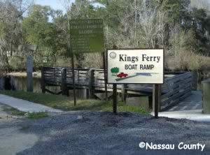 kings ferry boat ramp