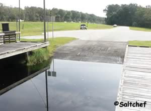 melton nelson boat ramp on lofton creek yulee florida 32097