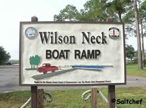 wilson neck / whiskey creek boat ramp