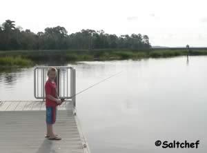 logan says thanks for taking me fishing