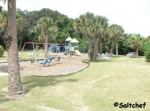 playground at egans creek park fernandina beach