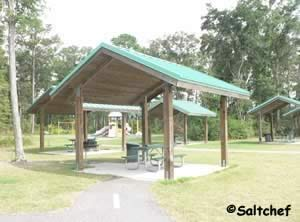 picnic while at goffinsville park near yulee florida
