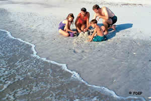 family events Amelia Island State Park
