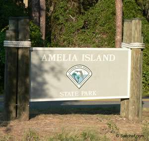 fishing in duval county at amelia island state park