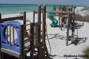 playground at james lee park in destin florida