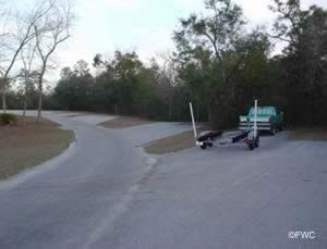 parking for vehicles with trailers at the fred gannon rocky bayou ramp