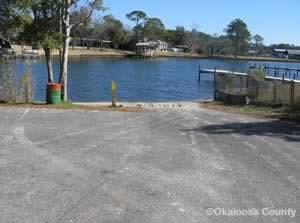 water street boat ramp ft walton beach