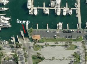 lake park marina boat ramp