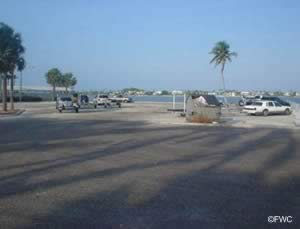 parking boat trailers at currie park west palm beach