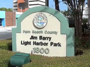 jim barry light harbor park riviera beach